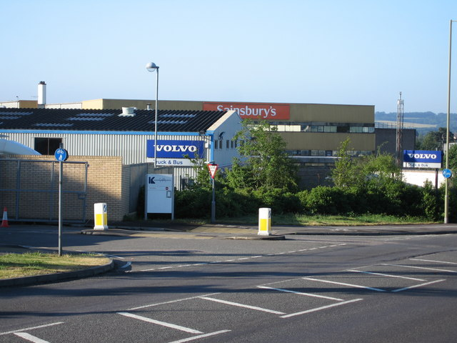Two depots - Volvo & Sainsbury's