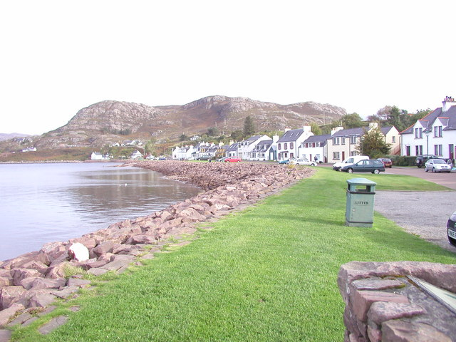 Shieldaig waterfront