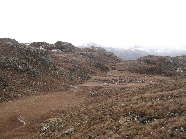 Knolls and bogs, North Morar