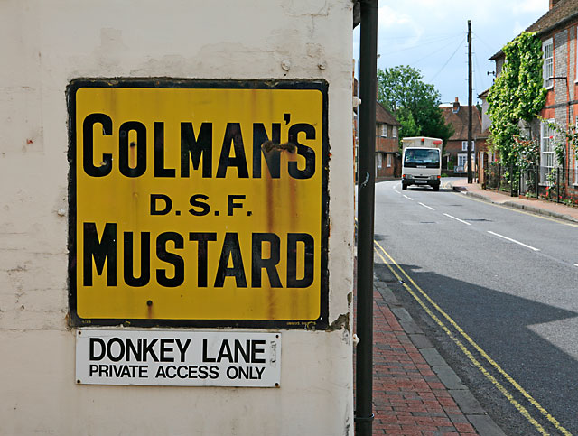 Colman's Mustard in Winchester Street, Botley