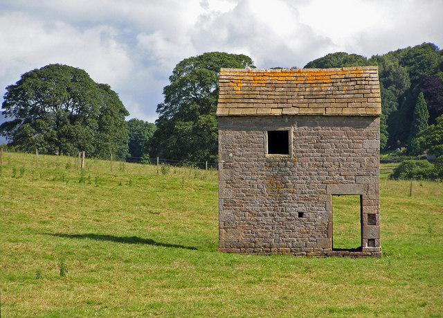 A draughty barn.
