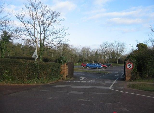 School car park