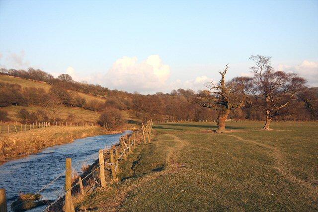 Afon Aeron, near Brynog