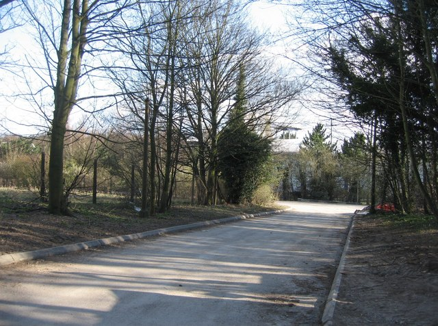 Access road to South East Water pump station
