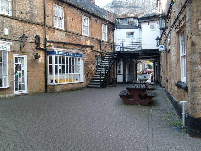The George Hotel Courtyard