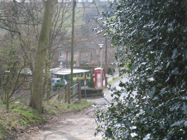 Phone Box in New Hall, Flockton