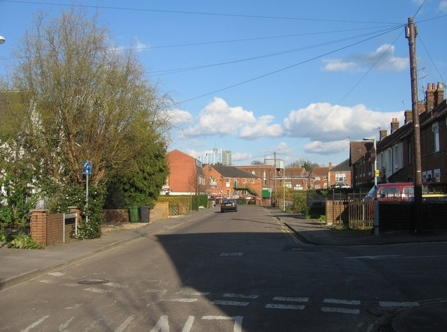 Looking down Southend Road