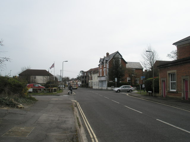 Junction of Sinah Lane and Staunton Avenue
