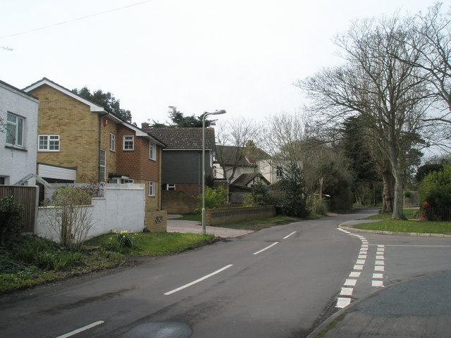 Junction of Sinah Lane and North Shore Road
