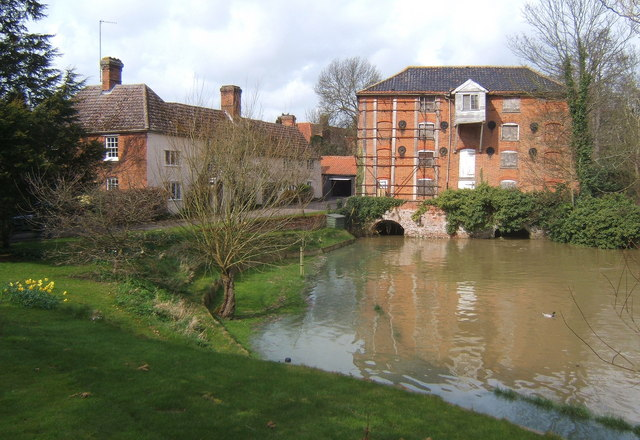 Sproughton Mill, by the River Gipping