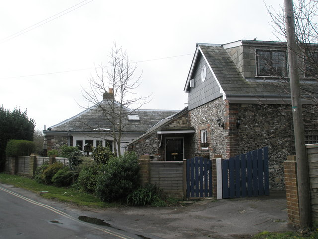 House on the corner of Sinah Lane and Ferry Road