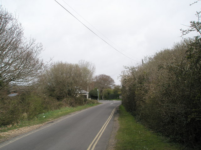 Looking northwards up Links Road