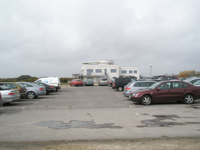 Car park at Hayling Golf Club