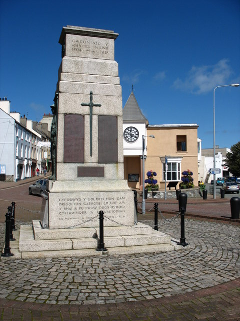 The Holyhead War Memorial