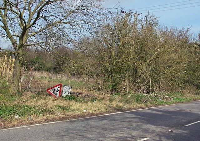 Slippery road....?