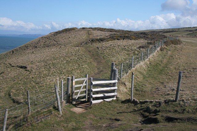 Coastal footpath to Aberporth