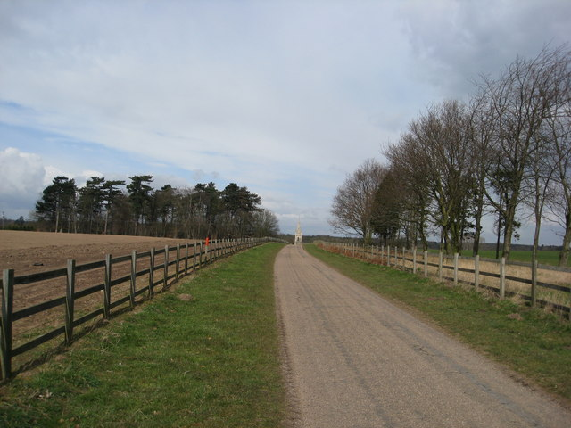 Thoresby Park Estate - Track to Perlethorpe