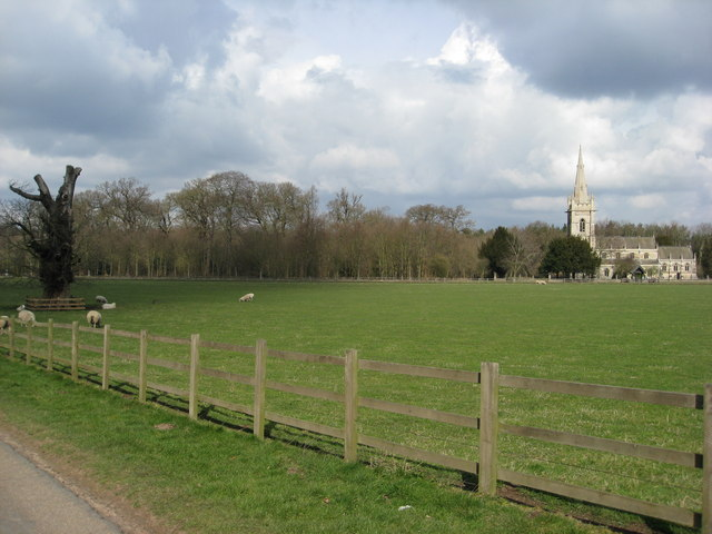 Thoresby Park Estate - Another view of Perlethorpe Church