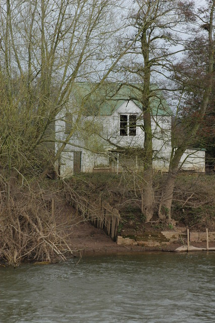 Boat House on the banks of the Severn