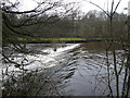 SK2475 : Weir on the River Derwent by Alan Heardman