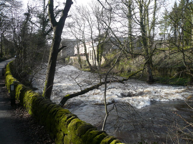 Calver Mill and White Water