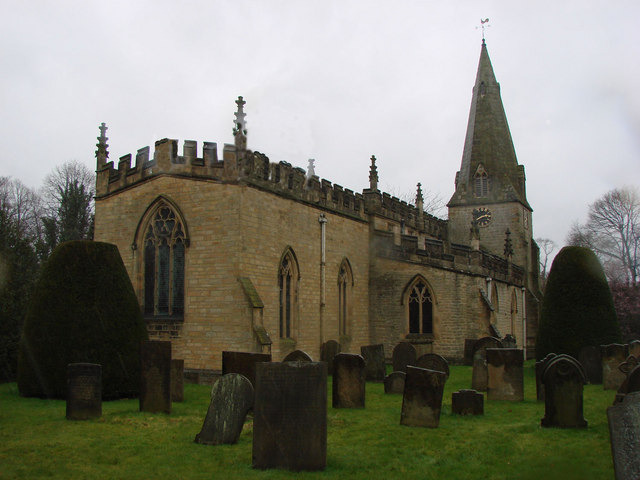 Baslow & Bubnell Parish Church