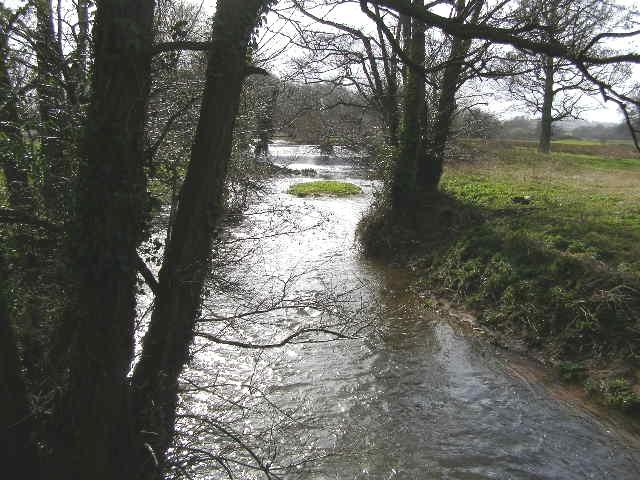 Hornshay Weir - from Nynehead Road bridge