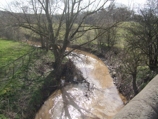 River Stour at Prestwood Bridge