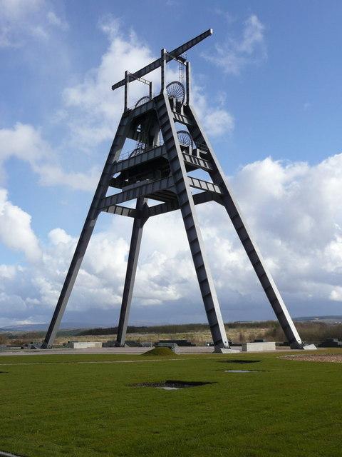 Barony Colliery A Frame