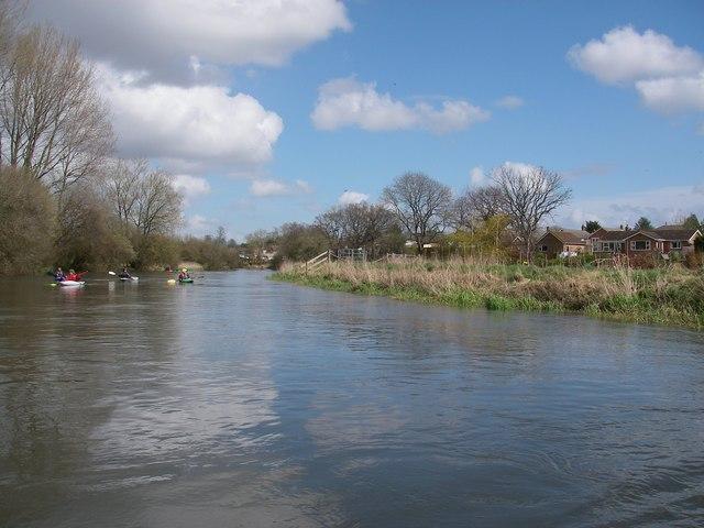 River Avon below Downton