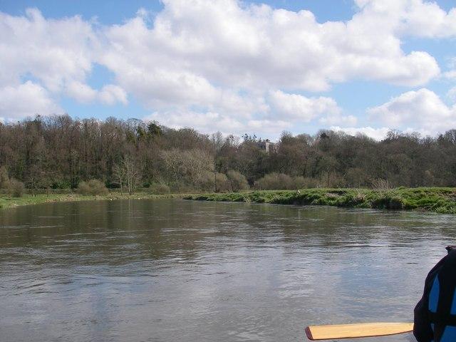 River Avon below Hale Park