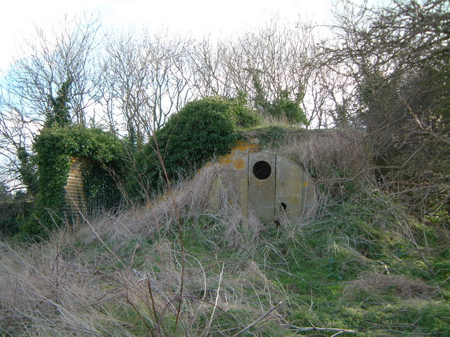 WW2 Generator bunker Wood Lane Kelling