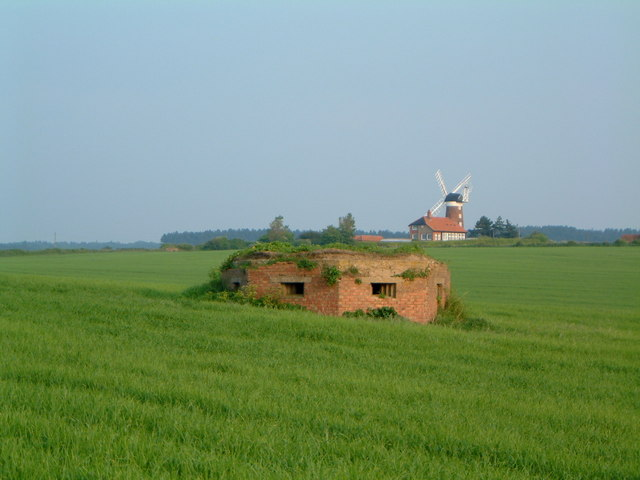 Pillbox  and windmill