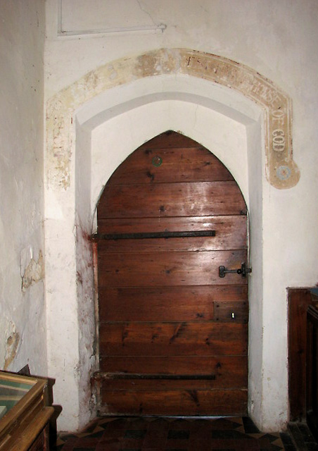St Margaret's church - north doorway