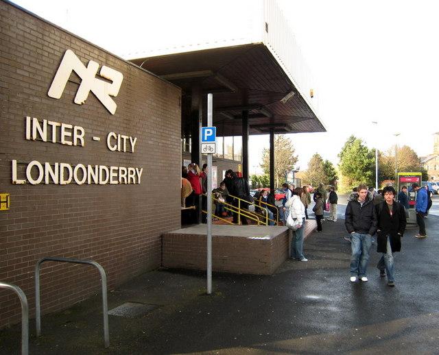 Derry Londonderry Waterside Railway 169 Rossographer Cc