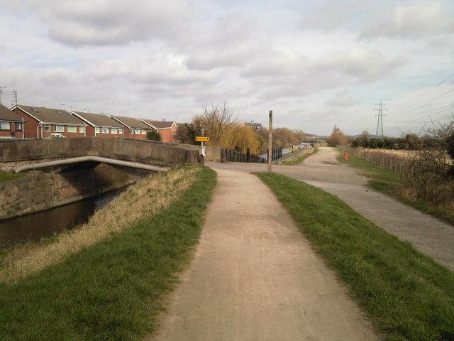 Beeston Canal bridge