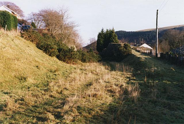 Llangurig station site