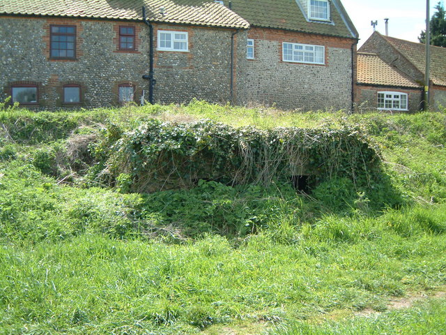 WW2 Pillbox hidden in the undergrowth