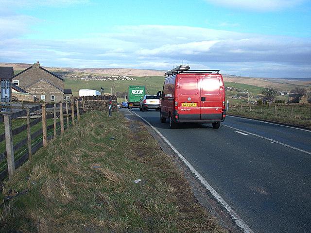 A640 road