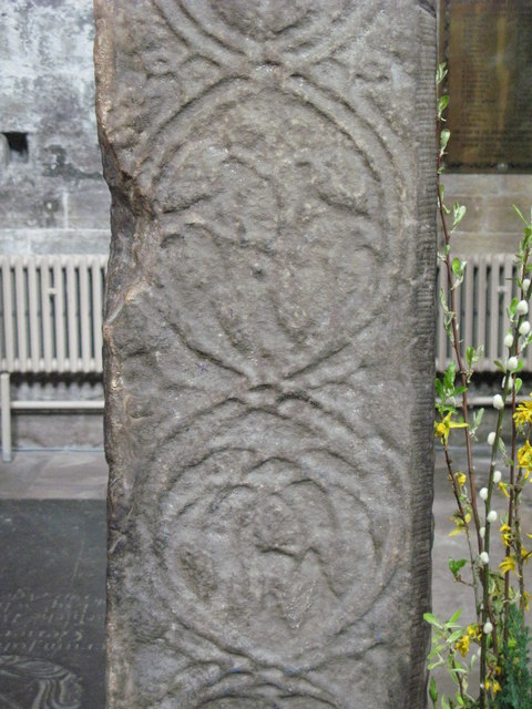 St. Acca's Cross, Hexham Abbey (detail)