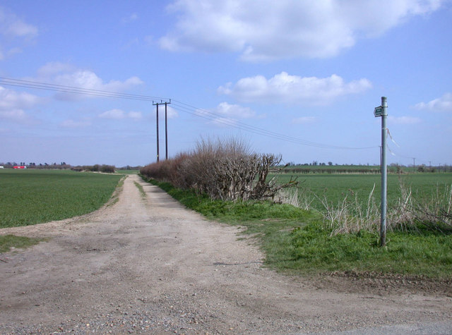 Public Bridleway to the Shelfords