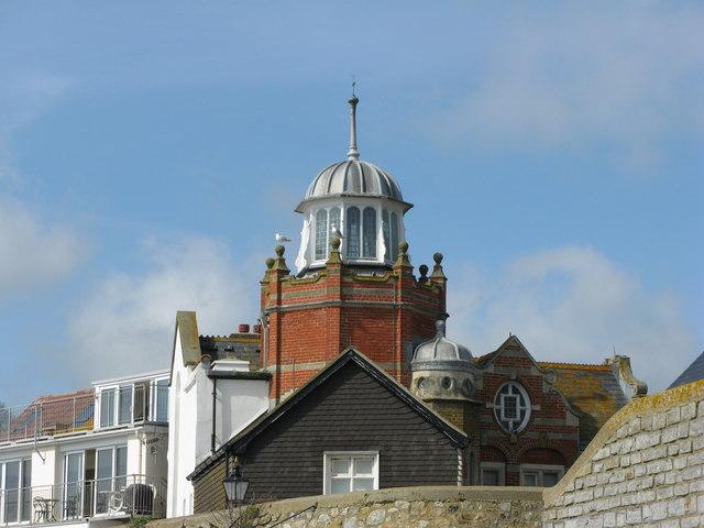 Cupola atop Lyme Regis Museum