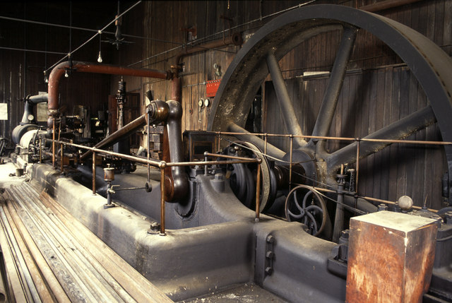 Steam engine, Nortonthorpe Mills, Scissett
