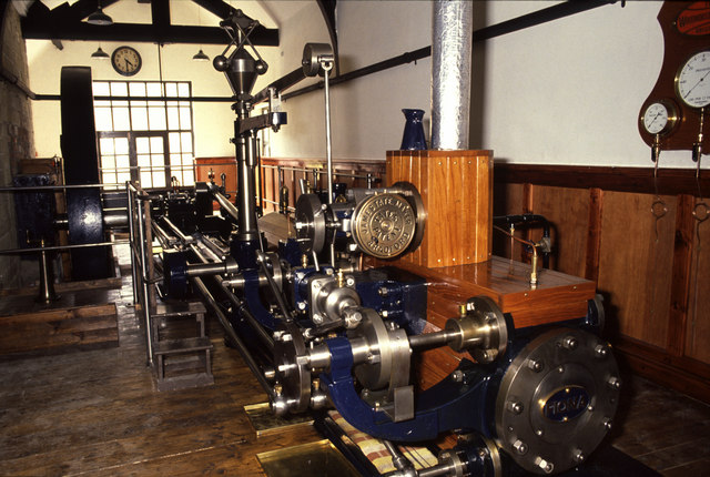 Steam engine, Leeds Industrial Museum
