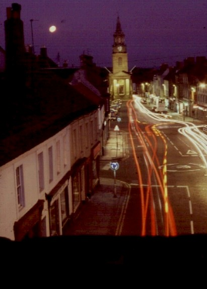 Berwick High Street  Winter Evening.
