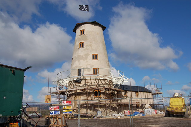Extensive re-development of Llancayo windmill