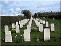 TG2724 : War Graves Plot by Evelyn Simak