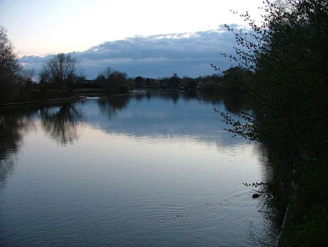 River Thames at dusk