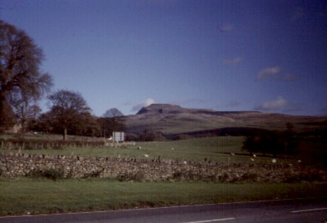 "Ingleborough from outside ""Country Harvest"""