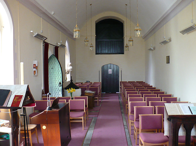 Interior of Goldcliff Parish Church